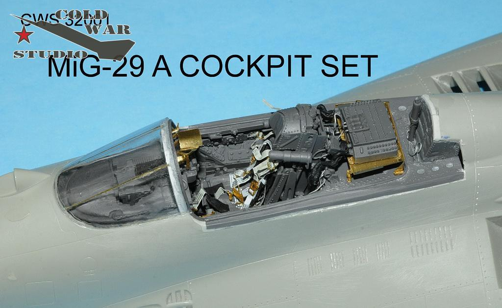 Cold War Studio - CWS32001 - MiG-29 A Cocpit set in 1/32 scale for