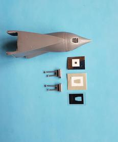 Su-17/22 M3/M4 Nose Shock cone set in 1/48 scale for Kitty Hawk